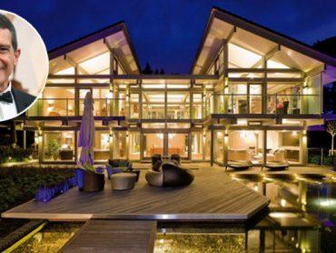 Esta casa prefabricada de lujo de Antonio Banderas le ha costado tres millones de euros